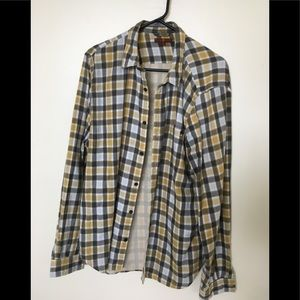 7 for all mankind Flannel, long sleeve.